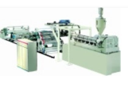 Apet Petg Mono Layer Sheet Extrusion Line
