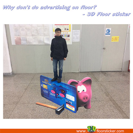 Are There Any Places Else That Available For Advertising In The Supermarket Floor Which Is Not Alrea