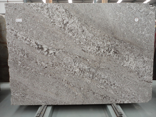 Aron White Granite Slab