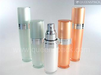 Around Clear Lotion Bottle For Personal Care