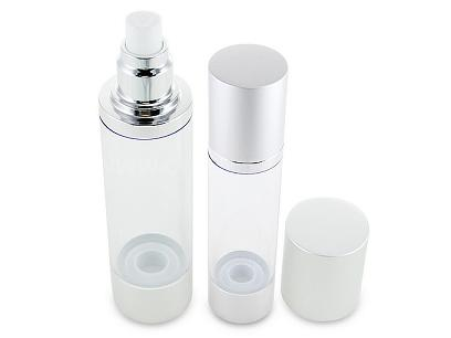 Around Plastic Cosmetic Bottle
