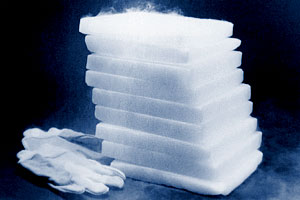 As Dry Ice Or Solid Carbon Dioxide