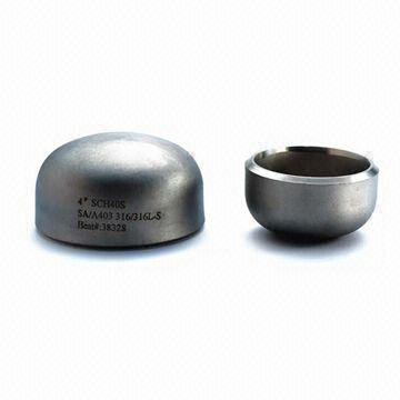 Asme Ansi B16 9 Alloy Steel Pipe Cap Beveled Manufacturer China