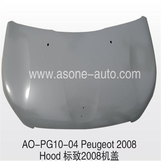 Asone Auto Engine Hood Bonnet For Peugeot 2008