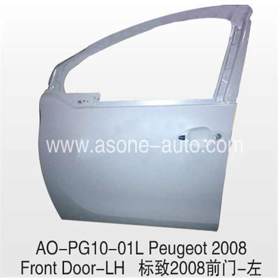 Asone Front Door For Peugeot 2008 Body Parts Replacement