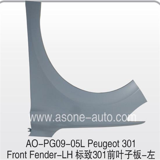 Asone Front Fender For Peugeot 301 Oem 9801840580