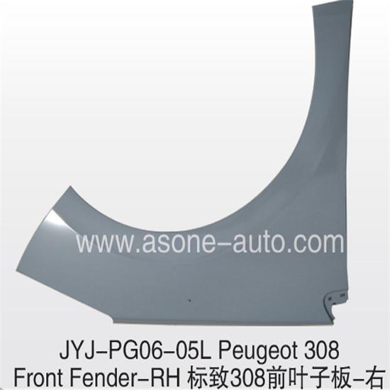 Asone Front Fender For Peugeot 308 Metal Stamping Parts