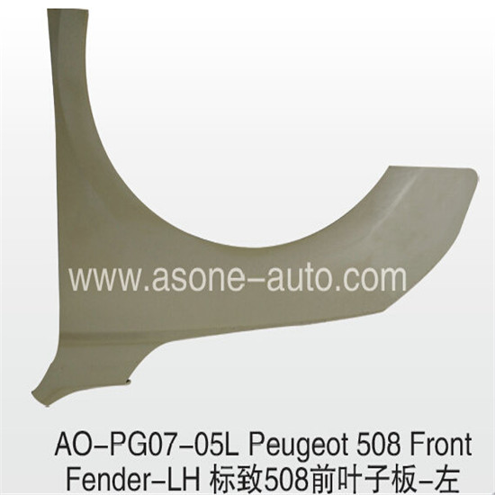 Asone Front Fender For Peugeot 508 Car Accessories Oem 9435040780p