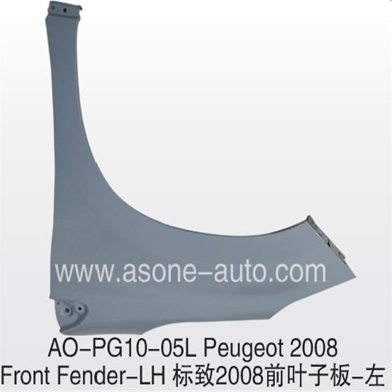 Asone Good Selling Peugeot 2008 Front Fender Lh