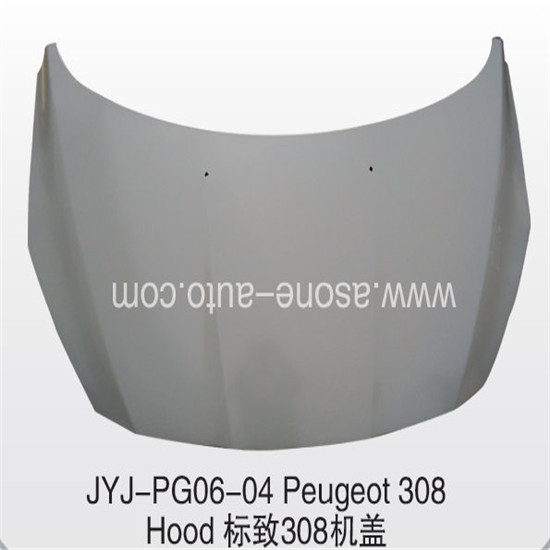 Asone Hood Bonnet For Peugeot 308 Auto Body Parts