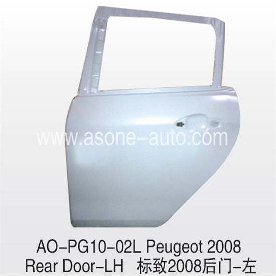 Asone Peugeot 2008 Rear Door For Car Iron Panel Replacement