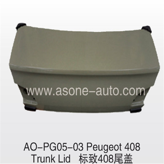 Asone Trunklid For Peugeot 408 Auto Kit Oem 8606 A7