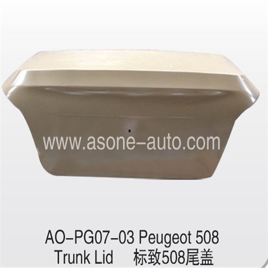 Asone Trunklidfor Peugeot 508 Car Accessories Oem 9435040880