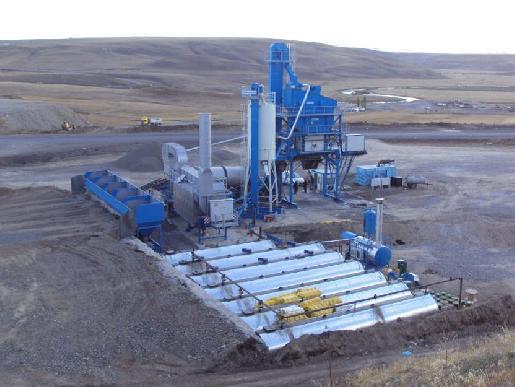 Asphalt Mixing Plant Benninghoven Eco 1250