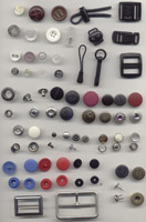 Assorted Garment Accessories