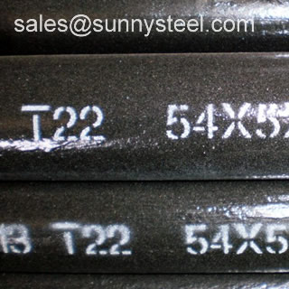 Astm A213 T22 Seamless Alloy Pipes