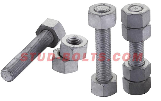 Astm A320 Alloy Steel Stainless Stud Bolt Set Nuts Petro Offshore