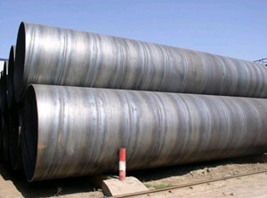 Astm A333 Gr6 Low Temperature Spiral Welded Pipe Famous Exporter China