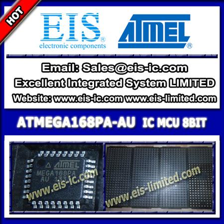 Atmega168pa Au Atmel 8 Bit Microcontrollers Mcu Ic 16kb Flash Tqfp 32
