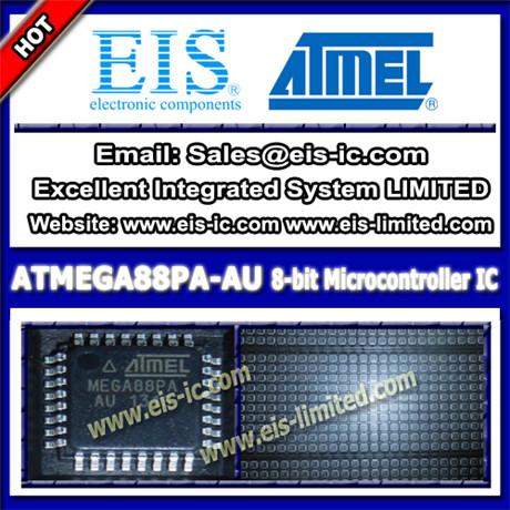 Atmega88pa Au Atmel Ic Microcontroller Mcu Tqfp 32