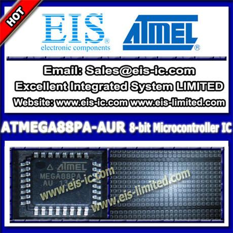 Atmega88pa Aur Atmel Ic Microcontroller Mcu Tqfp 32