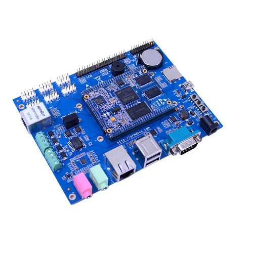 Atmel Sama5d34 Industrial Board Can Rs485 Rs232 Support 1gmbit Ethernet On