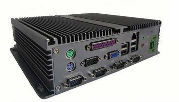 Atom D525 Fanless Embedded Pc 5xcom 2xs2 1xvga 1xlpt 6xusb 1xlan 1x Audio Mic