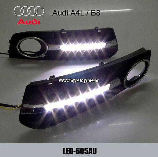 Audi A4 A4l B8 Drl Module Led Daytime Running Light Sale Lights