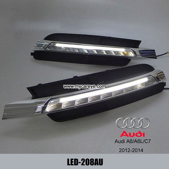 Audi A6 A6l C7 Replacement Drl Led Daytime Running Lights Aftermarket