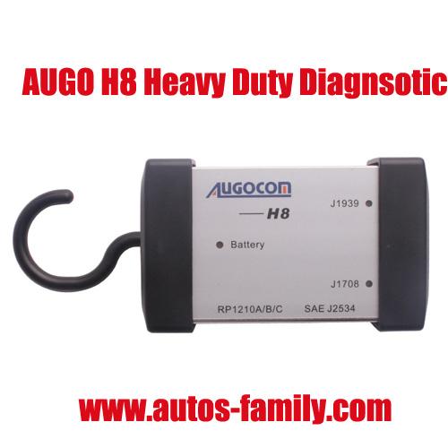 Augocom H8 Software Diesel Truck Interface