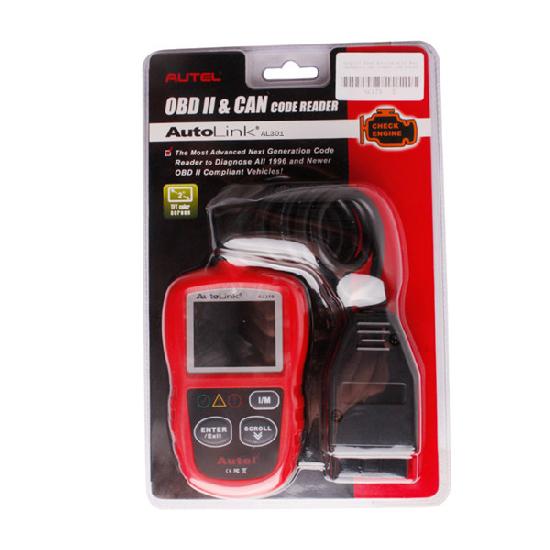 Autel Autolink Al301 Obdii Can Diy Code Reader
