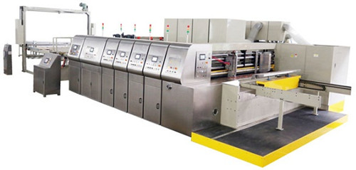 Auto Flexo Printer Slotter Diecutter Stacker Bottom Printing