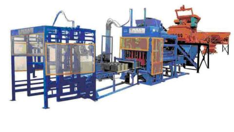Automatic Brick Making Machine Plant Jf Qt6 15