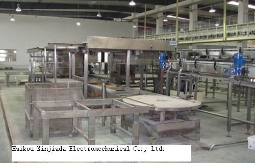 Automatic Cage Unloader Machine For Filled Canned Food And Beverage After Sterilization