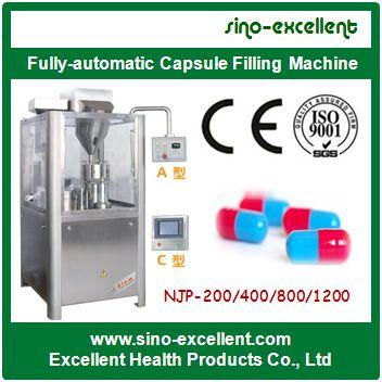 Automatic Capsule Filling Machine Njp 200 400 800 1200