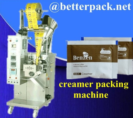 Automatic Coffee Mate Packets 3 In 1 Packaging Machine