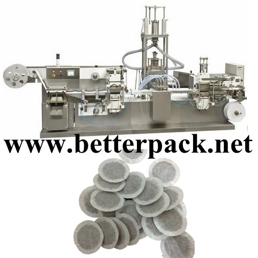 Automatic Coffee Pod Making Packing Machine Cup Forming Filling Sealing