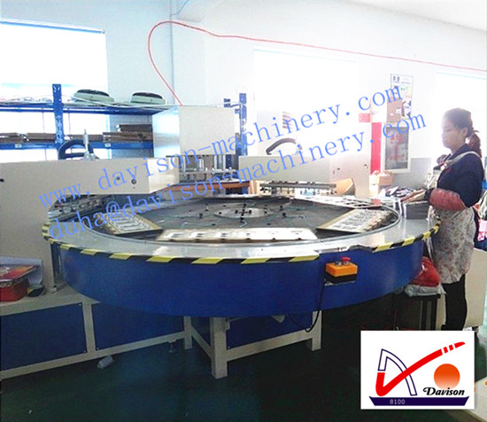 Automatic Double Manipulator Six Stations Welding Machine