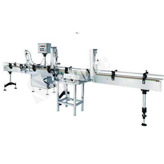 Automatic Filling And Capping Line Basic Model