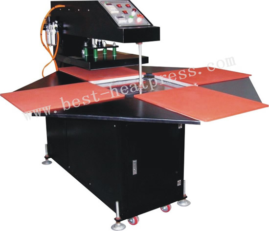 Automatic Four Stations Heat Press Machine