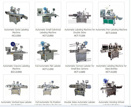 Automatic Labeling Machine Label Applicator Labeler