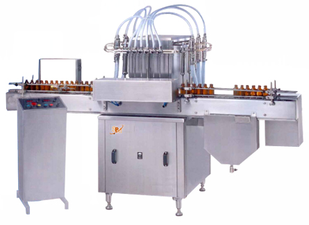 Automatic Liquid Filling Machines Syrup Machine Packaging Bottle Oral Line