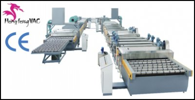 Automatic Mirror Glass Production Line Silvering Coating Machine