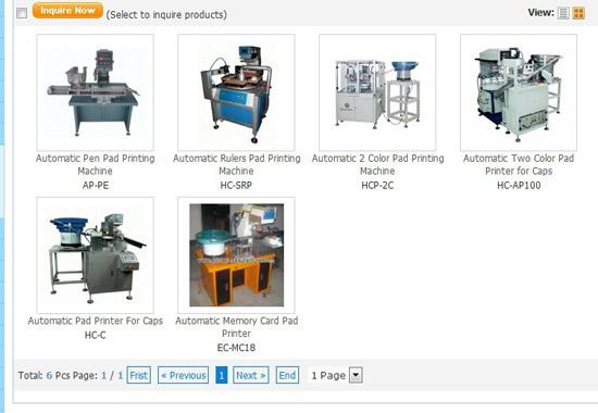Automatic Pad Printing Machine Printer