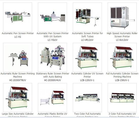 Automatic Screen Printer Printing Machine Auto