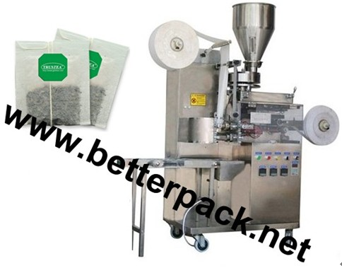Automatic Tea Bag Packaging Machine With String And Tag