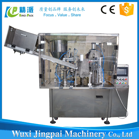 Automatic Toothpaste Or Cosmetic Tube Filling Sealing Machine