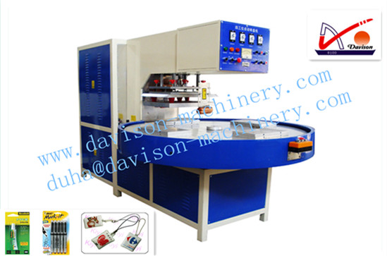 Automatic Turntable 4 Stations High Frequency Welding Machine
