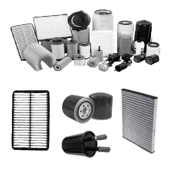 Automobile Filters Of Air Oil Fuel Cabin