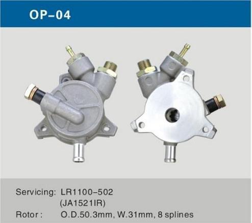 Automobile Spare Parts Auto Vacuum Pump For Opel Alternator Car Accessories